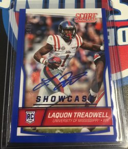 2016 Score  Laquon Treadwell Showcase Auto