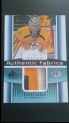 2013-14  SP Game Used Editions Authentic Fabrics Patch #AF-PR Pekka Rinne