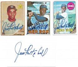 1962, 196 Topps & Index Card TTM Jose Tartabull 10/18/21