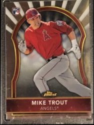 2011 Topps Finest #94 Mike Trout RC