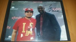 Jerry Rice 8x10 Personal Photo IP Auto