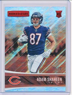 Adam Shaheen 2017 Rookies and Stars Longevity RC /70