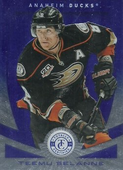 2013/14 Panini Totally Certified Platinum Blue Selanne
