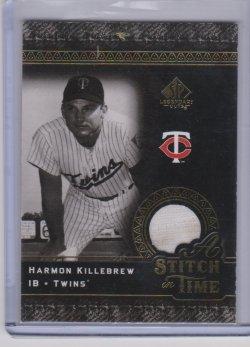 2007 Upper Deck sp legendary cuts a stitch in time killebrew