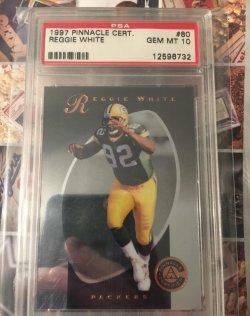 1997  Pinnacle Certified Reggie White