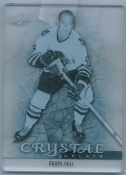 2014 Upper Deck Trilogy  Bobby Hull Crystal