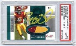 2006 SAGE Jerseys Master Edition #J3 Reggie Bush 1/1 PSA 9
