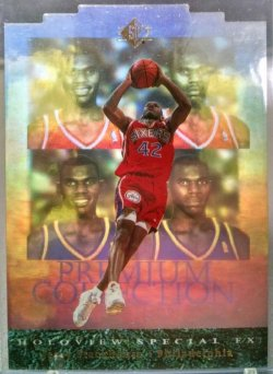 1995-96 Upper Deck SP Jerry Stackhouse holoview special f/x die cut