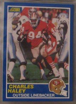 1989 Score  #21 - Charles Haley