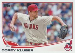 2013 Topps Update Corey Kluber