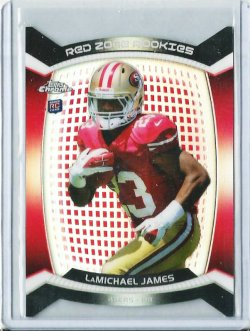 2012 Topps Chrome Red Zone Rookies LaMichael James