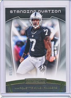Marquette King 2017 Rookies and Stars Standing Ovation Gold /10