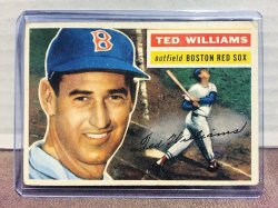1956 Topps  Ted Williams