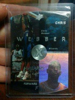 1997-98 Upper Deck SPx Chris Webber Base