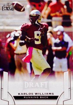 2015 Leaf Draft Karlos Williams