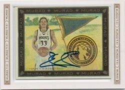 2008-09 Topps T51 Murad Miller, Mike - Autographs