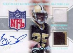 2006 Ultimate Collection Game Jersey Autographs Combos #UCSMBU Reggie Bush/1 of 1 (DONT HAVE)