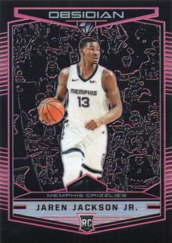 2018-19 Panini Chronicles  Jackson Jr, Jaren - Obsidian Preview Pink
