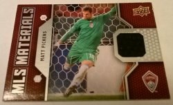 2011 Upper Deck MLS Materials Matt Pickens