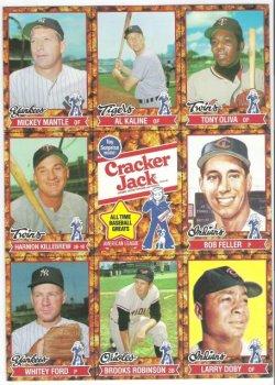 1982 Cracker Jack sheet