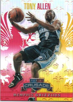 2013-14 Panini Crusade Allen, Tony - Insert Red