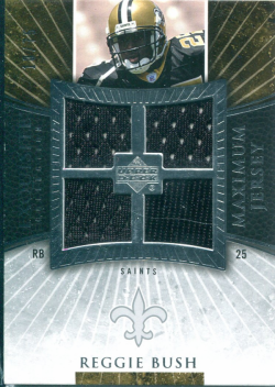 2006 Playoff Exquisite Maximum Jersey Reggie Bush Rookie