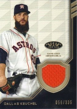 Topps Tier One Memorabilia Dallas Keuchel