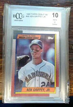 1990 Topps  Ken Griffey Jr debut