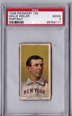 1909  T206 Piedmont 150 Willie Keeler