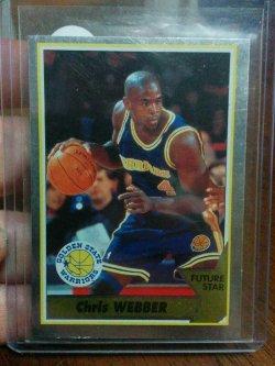 1994-95 Panini  Chris Webber Sticker