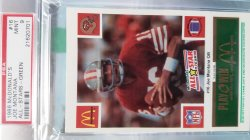 1988   McDonalds  Joe Montana - - Green