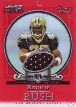 2006   Bowman Sterling Red Refractors #RB1 Reggie Bush  JSY 1/1 (DONT HAVE)