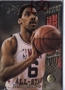1993  action packed #71 julius erving