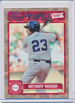 Anthony Rendon 2011 Playoff Contenders Prospect Ticket Crystal Collection /299