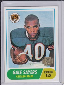 Gale Sayers 2001 Topps Archives 1968 Reprint