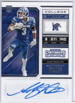 2018 Panini Contenders Draft Picks Anthony Miller RPS College Ticket
