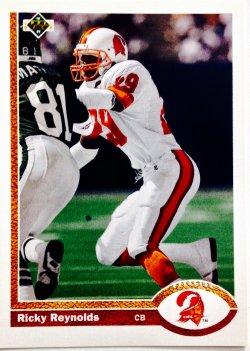 1991 Upper Deck  Ricky Reynolds