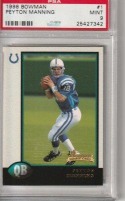 1998 Bowman  Peyton Manning