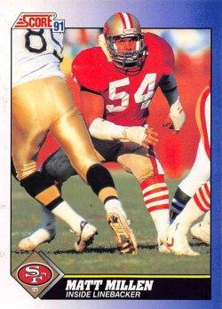 1991  Score Matt Millen