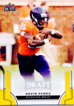 2015 Leaf Draft Gold Parallel Kevin Parks