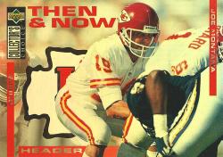 1994 Upper Deck Collectors Choice Then & Now Header Joe Montana