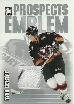 2004/05 In The Game Heroes and Prospects Emblems Silver Ryan Getzlaf /30