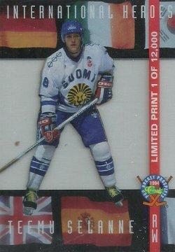 1994  Classic Pro Prospects International Heroes Selanne /12500