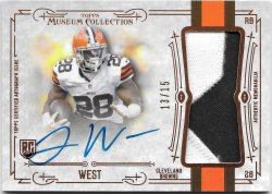 2014 Topps Museum Collection Jumbo Patch Autographs Terrance West
