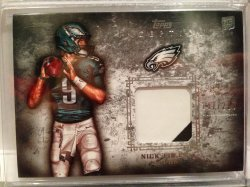 2012 Topps Inception Nick Foles Patch