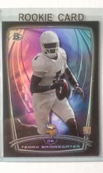 2014 Bowman Black Rainbow Teddy Bridgewater