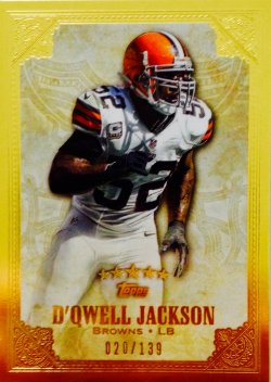 2012 Topps Five Star DQwell Jackson