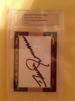 2011 Leaf Cut Signature Edition Bruce Jenner