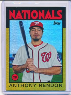 Anthony Rendon 2014 Topps Archives Gold /199