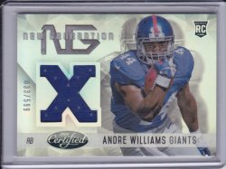 Andre Williams 2014 Certified New Generation Materials JSY /599